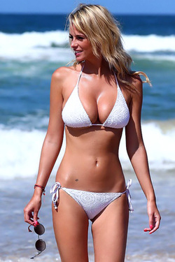 Rhian Sugden in 'Beach Bunny' via Celeb Matrix